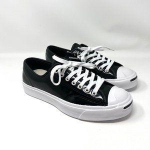 Converse JP Black P Leather Low Top Sneakers Logo M
